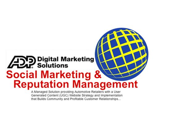 Automotive Social Media Marketing and Reputation Management Solutions from ADP Dealer Services